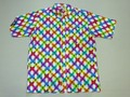 BURBANK バーバンク 半袖フルオープン プリントB/Dシャツ(バタフライ)