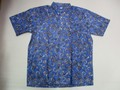 REYN SPOONER レインスプーナー 半袖プルオーバーB/Dシャツ(PAISLEY PALATE BLUE HAZE)