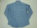 CAMCO カムコ 長袖レイルロードワークシャツ(ブルー)