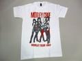 US ROCK ユーエスロック USロックTシャツ(Mötley Crüe モトリークルー 1983 ホワイト)