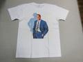 GOGD ジーオージーディー 半袖ハリウッドスターTシャツ(ポールニューマン ホワイト)