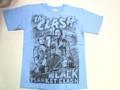 US ROCK ユーエスロック USロックTシャツ(The Clash ザ クラッシュ ブルー)