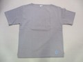 ORCIVAL オーチバル 半袖ポケット付きバスクシャツ(グレー)