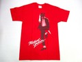 US ROCK ユーエスロック USロックTシャツ(Michael Jackson マイケルジャクソン レッド)