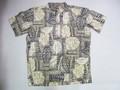 REYN SPOONER レインスプーナー 半袖プルオーバーB/Dシャツ(VERANDA CHARCOAL)