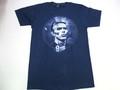 US ROCK ユーエスロック USロックTシャツ(David Bowie デヴィッドボウイ 肖像ネイビー)
