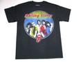 US ROCK ユーエスロック USロックTシャツ The Rolling Stones ローリング ストーンズ (フルメンバー ブラック)