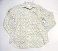 ARVOR MAREE アルボーマレー 長袖オープンプリントシャツ(スリープライマリーカラー)