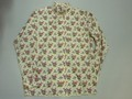 BURBANK バーバンク 長袖フルオープンB/Dシャツ(レトロフラワー)