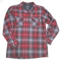 PENDLETON ペンドルトン ウールボードシャツ(レッドXブラウン)