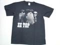 US ROCK ユーエスロック USロックTシャツ(ZZ Top ズィーズィー トップ ブラック)