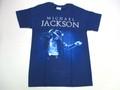 US ROCK ユーエスロック USロックTシャツ(Michael Jackson マイケルジャクソン ネイビー)