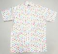 BURBANK バーバンク 半袖フルオープン プリントB/Dシャツ(ビーチサンダル)