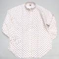 PINEWOOD パインウッド 長袖プリントB/Dシャツ(レッドブラックフラワー)