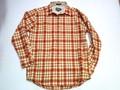 PENDLETON ペンドルトン ウールロッジシャツ(マスタード×オレンジ)