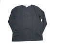 BANDOL バンドール 長袖丸首Tシャツ(ブラック)