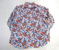 ARVOR MAREE アルボーマレー 長袖オープンプリントシャツ(フラワーブルーローン)