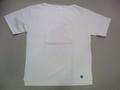 ORCIVAL オーチバル 半袖ポケット付きバスクシャツ(ホワイト)