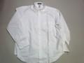 1015 長袖オックスフォードB/Dシャツ(ホワイト)