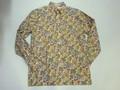 BURBANK バーバンク 長袖フルオープンB/Dシャツ(マルチペイズリー)