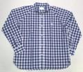 ARVOR MAREE アルボーマレー ブロードマリンシャツ(ネイビー X ホワイト)