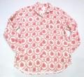 ARVOR MAREE アルボーマレー 長袖オープンプリントシャツ(レッドフラワー)