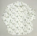 ARVOR MAREE アルボーマレー 長袖オープンプリントシャツ(魚)