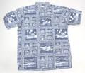 REYN SPOONER レインスプーナー 半袖プルオーバーB/Dシャツ(KATARINA SEA ネイビー )