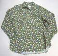 ARVOR MAREE アルボーマレー 長袖オープンプリントシャツ(グリーンフラワー)