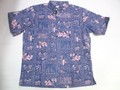 REYN SPOONER レインスプーナー 半袖プルオーバーB/Dシャツ(60周年記念ラハイナセーラ ロイヤル )