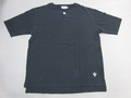 ARVOR MAREE アルボーマレー 半袖カノコヘンリーTシャツ(チャコール)