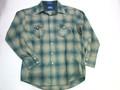 PENDLETON ペンドルトン ウールボードシャツ(ブルーカーキ)
