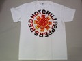 US ROCK ユーエスロック USロックTシャツ(Red Hot Chili Peppers レッド ホット チリ ペッパーズ ミラーボール ホワイト)