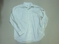 ARVOR MAREE アルボーマレー 長袖オープンプリントシャツ(ホワイトドット)