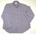1015 長袖 綿ビエラ B/Dシャツ(スモール チェック)