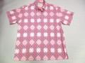 SUNSURF サンサーフ 半袖 B/D ニットシャツ(ピンク)