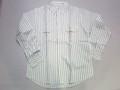 CAMCO カムコ 長袖レイルロードワークシャツ(ストライプ ナチュラル)