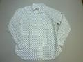 ARVOR MAREE アルボーマレー 長袖オープンプリントシャツ(バッテンブルー)