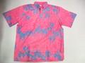 REYN SPOONER レインスプーナー 半袖プルオーバーB/Dシャツ(FROWER ピンク)