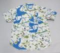 ARVOR MAREE アルボーマレー 半袖オープンカラーシャツ(トーキョーマップ)