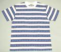 SUGAR CANE  シュガーケーン 半袖ジャガードTシャツ(オフホワイト)