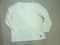 ORCIVAL オーチバル バスクシャツ(ホワイト ソリッド)