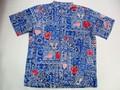 REYN SPOONER レインスプーナー 半袖フルオープンB/Dシャツ(SUMM COMM13 2013独立記念 NAVY)