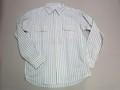 CAMCO カムコ 長袖レイルロードワークシャツ(ストライプ ホワイト)