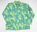 Kiholo Kai キホロ カイ 長袖フルオープンB/Dシャツ(HILO TOROPIC グリーン)