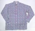 BURBANK バーバンク 長袖フルオープンB/Dシャツ(カラフルフラワーB)