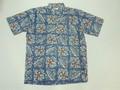 REYN SPOONER レインスプーナー 半袖プルオーバーB/Dシャツ(プルメリア インク)
