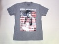 US ROCK ユーエスロック USロックTシャツ(ジミ ヘンドリックス フラッグ グレー)
