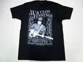 US ROCK ユーエスロック USロックTシャツ(Waylon Jennings ウェイロン ジェニングス ブラック)