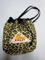KELTY ケルティ キンチャクショルダー(ゴールド レオパード)